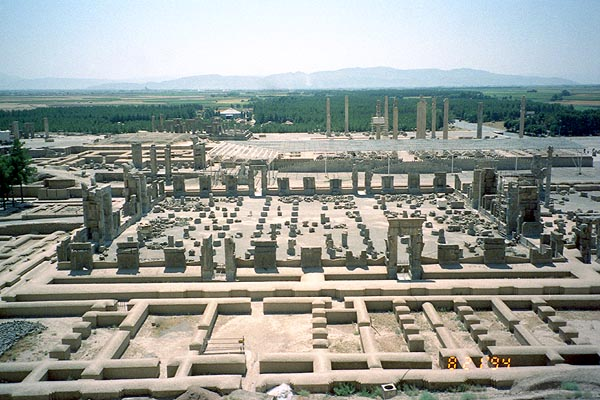 the discovery and reconstruction of the ancient city of persepolis Persepolis is the greek name (from perses polis for 'persian city') for the ancient  city of parsa, located seventy miles northeast of shiraz in present-day iran.